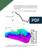 Analisa Lingkungan Pengendapan Pada Peta Kontur
