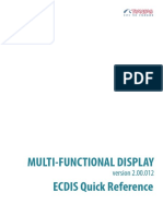 MFD ECDIS Quick Reference Transas