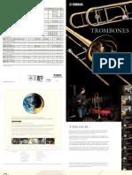 Catálogo Trombones Yamaha