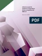 Informe Gobiernos Corporativo IBEX CNMV 2009