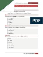Série 1 - PHP - Notions de Bases