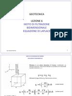 6.Moto Di Filtrazione Bidimensionale