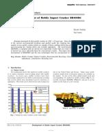 Development of Mobile Impact Crusher BR480RG-152-06_E.pdf