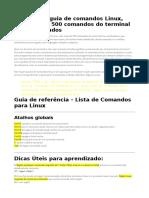 Guia de Comando s Linux
