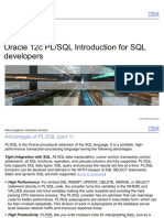 Oracle 12c PL_SQL Tutorial for Developers