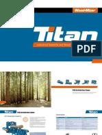 Wood-Mizer TITAN aserraderos y procesadores de maderas en tronco