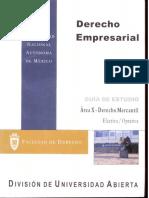 Derecho Empresarial Area X-Derecho Mercantil