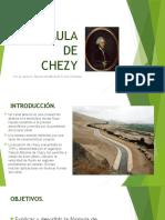 Fórmula de Chezy