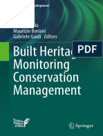 Built Heritage Monitoring Conservation Management