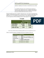 SUTA and FUTA Calculations