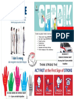 STROKE Pamflet