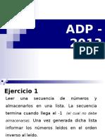 Adp - 2013 - Ep9 - Listas