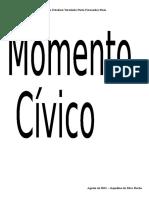 Momento Cívico Para Imp