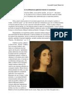 Rafael Sanzio Si Arhitectura Spatiului Interior in Renastere