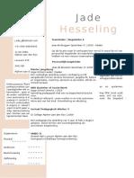 CV Jade Hesseling - Ter Bork