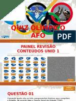 Aula 6 - Revisao Geral Unid 1 - Financase Orcamento - Quiz Olimpico Afo - Et5 - Esufrn