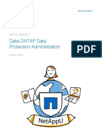 Cluster Data Ontap 8.3 Data Protection Student Guide