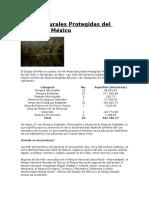 Áreas Naturales Protegidas Del Estado de México