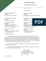 FBI Letter
