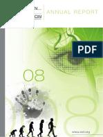ESF Annual Report 2008