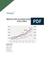 Proyección Macroeconómica 2017 Para Chile