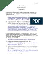 FIN441 Homework 2 FL16 Solution