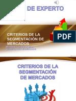 PANEL DE EXPERTO SEGMENTACIÓN DE MERCADO.ppt