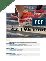 5 Viajar Cientos de Kilómetros Para Correr 42 Más…