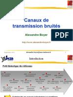 Presentation Cours Transmission Bruite 2012 v1