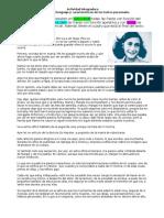 Ejercicios de taller de lectura y redacción I