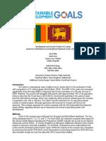 Development and Growth Trends in Sri Lanka FINAL