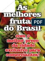 Panfleto Frutas do Éden