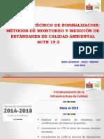 MÉTODOS DE MONITOREO Y MEDICIÓN DE ESTÁNDARES DE CALIDAD AMBIENTAL