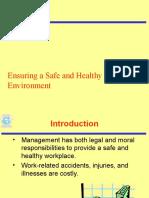 Employee Welfare,Security and health