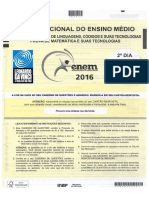 Gabarito Enem 2016 - 2º Dia