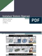 Instalasi Sistem Operasi