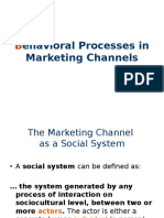 Ch4_Behavioral Processes in Marketing Channels