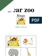 Dear Zoo - Bingo