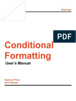 conditional formatting user guide