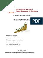 INGENIERÍA ECONOMICA