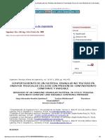 Comportamiento de Un Material Granular No Tratado en Ensayos Triaxiales Cíclicos Con Presión de Confinamiento Constante y Variable