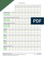 Caligrafía chino 9