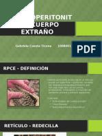 Reticuloperitonitis a Cuerpo Extrano