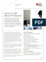 what is high blood pressure-aha