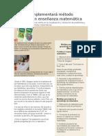 Mineduc Implementará Método Singapur en Enseñanza Matemática