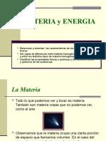 Materia y Energia