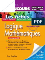 Objectif Concours Fiches Logique Mathématiques