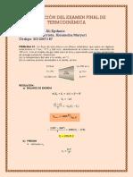 Examen Final Termodinamica