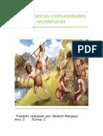 As Primeiras Comunidades Recoletoras.docx Beatriz Margaça