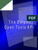 The Delphi IDE Open Tools API Version 1.1